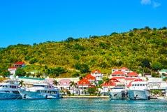 St Barths eiland Royalty-vrije Stock Foto