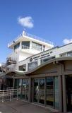 Gustaf III Lotniskowy terminal i ruch drogowy wieża kontrolna przy St. Barths zdjęcie royalty free