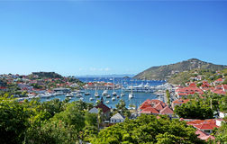 St Barths island Stock Photo