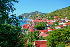 St Barths island Royalty Free Stock Photography