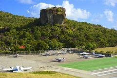 St Barths, Karaiby Obraz Royalty Free