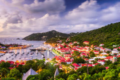 St. Barths Skyline Royalty Free Stock Images