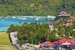 St Barths som är karibisk Fotografering för Bildbyråer