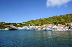 St Barths wyspa Zdjęcia Stock