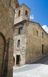 St. Bartolomeo Church. Montefalco. Umbria. Perspective of the St. Bartolomeo Church. Montefalco. Umbria Stock Images