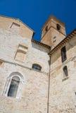 St. Bartolomeo Church. Montefalco. Umbria. Stock Images