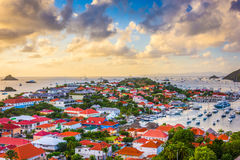 St. Barts in the Caribbean Stock Images