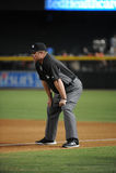 1st Base Umpire Marvin Hudson Stock Images