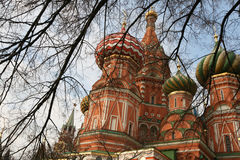 St. Basil's cathedral Royalty Free Stock Photos