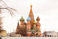 St. Basil's Cathedral. Red Square. St. Basil's Cathedral Stock Photo