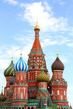 St Basil's Kathedraal, Moskou, Rusland Stock Foto