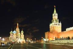 St Basil Cathedral à Moscou Image libre de droits