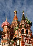 St. Basil cathedral Stock Photography