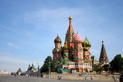 St. basil cathedral. In moscow, russia Royalty Free Stock Photography
