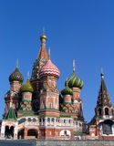 St. Basil cathedral. (Kremlin in Moscow Stock Photos