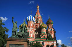 St. Basil Cathedral. Red Square, Moscow Royalty Free Stock Images