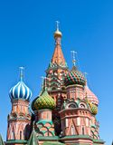 St. Basil Cathedral Royalty Free Stock Images