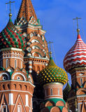 St. Basil Cathedral. (Kremlin in Moscow (Russia Royalty Free Stock Photos