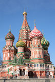 St. basil cathedral. Moscow, Russia stock photography