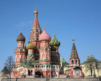 St. basil cathedral Royalty Free Stock Photos