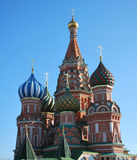 St. Basil Cathedral. St. Basil's Cathedral on the Red Square in Moscow, Russia Stock Photos