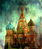 St. Basil Cathedral. Moscow Russia Royalty Free Stock Photo
