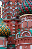 St. Basil Cathedral,. Red Square, Moscow Royalty Free Stock Photos