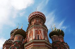 St.Basil cathedral Royalty Free Stock Photos