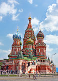 St. Basil Cathedral em Moscou Foto de Stock Royalty Free
