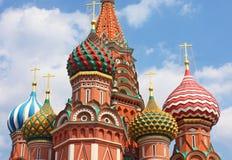 St. Basil Cathedral en Moscú Fotos de archivo