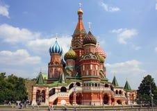 St. Basil Cathedral en Moscú Imagen de archivo libre de regalías