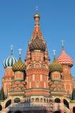 St. Basil Cathedral i Moskva arkivbild