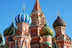 St.Basil Cathedral In Moscow. Stock Photography