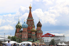 St. Basil Cathedral Kremlin Moscow Russia Royalty Free Stock Image
