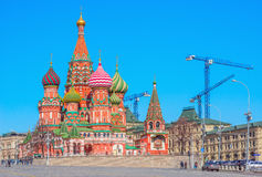 St. Basil Cathedral. Stock Photography