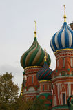 St'Basil Cathedral in Moscow. Russia Stock Photos