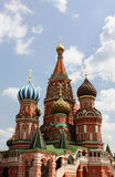 St. Basil Cathedral in Moscow Stock Photo