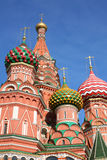 St. basil cathedral moscow Royalty Free Stock Photo