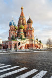 St.Basil Cathedral in Moscow Royalty Free Stock Image
