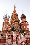 St. basil cathedral in Moscow Stock Images