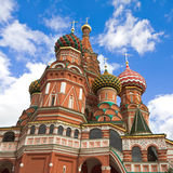 St Basil Cathedral,  Moscow Stock Images