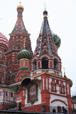 St Basil Cathedral In Moscow Immagine Stock