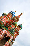 St Basil Cathedral In Moscow Stockbild