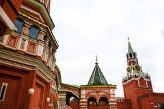 St Basil Cathedral In Moscow Lizenzfreie Stockbilder