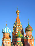 St Basil Cathedral In Moscow Fotografia Stock