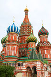 St Basil Cathedral In Moscow Lizenzfreies Stockbild