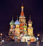 St. Basil Cathedral, Moscow Kremlin Royalty Free Stock Photography