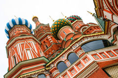 St Basil Cathedral in Moscow Stock Image