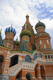 St. Basil Cathedral (Moscow,  Red Square). St. Basil Cathedral (Moscow,  Red Square, Europe Stock Images