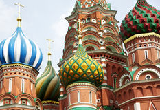 St. Basil Cathedral. Moscow.Russia Royalty Free Stock Images